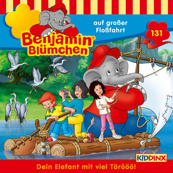 Benjamin Blümchen - Folge 131: auf großer Floßfahrt