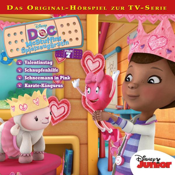 Doc McStuffins - Folge 7 - Valentinstag / Schnupfenhilfe/Schneemann in Pink / Karate-Kängurus