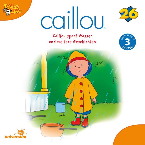 Caillou - Folgen 278-286: Caillou spart Wasser