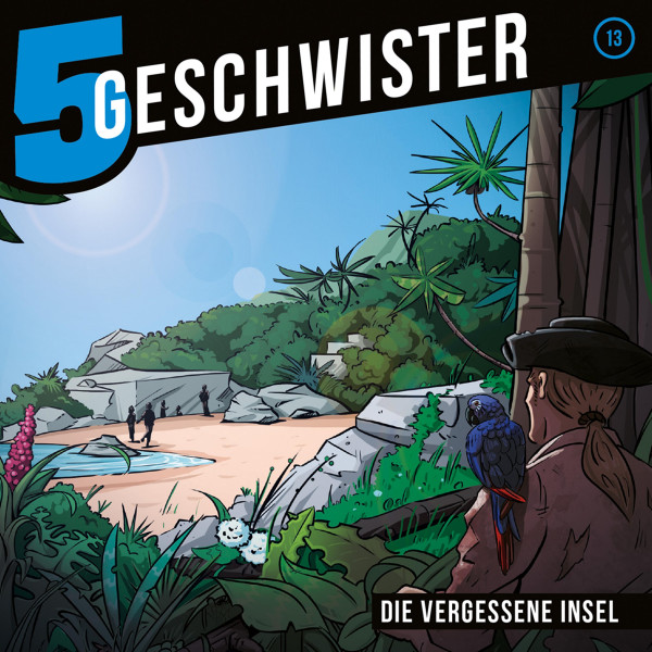 5 Geschwister - 13: Die vergessene Insel