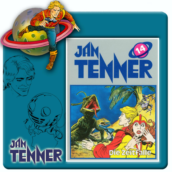 Jan Tenner Classics - Die Zeitfalle - Folge 14
