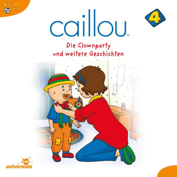 Caillou - Folgen 38-49: Die Clownparty