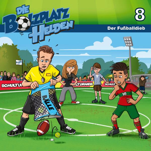 Die Bolzplatzhelden - 08: Der Fußballdieb