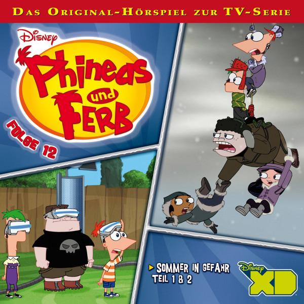 Disney - Phineas und Ferb - Folge 12 - Sommer in Gefahr - Teil 1 & 2
