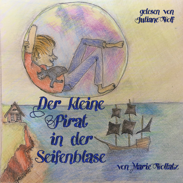 Der kleine Pirat in der Seifenblase