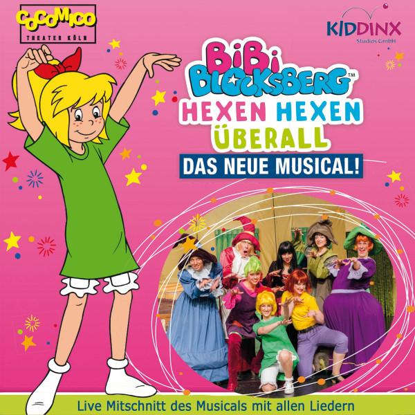Bibi Blocksberg - Hexen Hexen überall - Das neue Musical (mit allen Liedern)