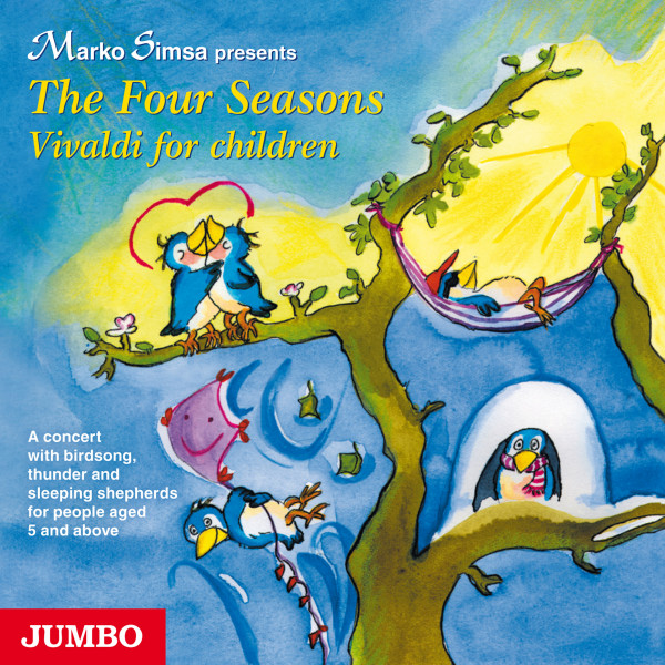 The Four Seasons. Vivaldi for children - A concert with birdsong, thunder and sleeping shepherds for people aged 5 and above