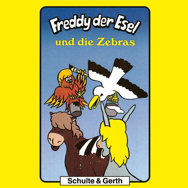 Freddy und die Zebras (Freddy der Esel 11) - Ein musikalisches Hörspiel