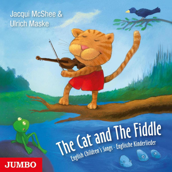 The Cat And The Fiddle - English Children's Songs. Englische Kinderlieder