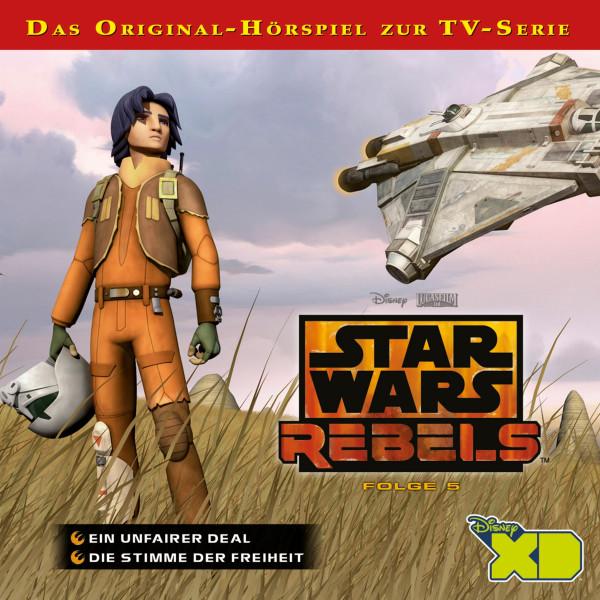 Star Wars Rebels - Folge 5 - Ein unfärer Deal / Die Stimme der Freiheit