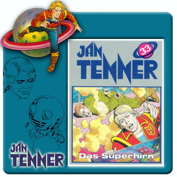Jan Tenner Classics - Das Superhirn - Folge 33