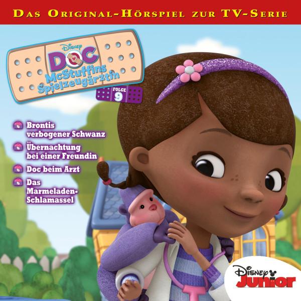 Disney - Doc McStuffins - Folge 9 - Brontis verbogener Schwanz / Übernachtung bei einer Freundin / Doc beim Arzt / Das Marmeladen-Schlamassel