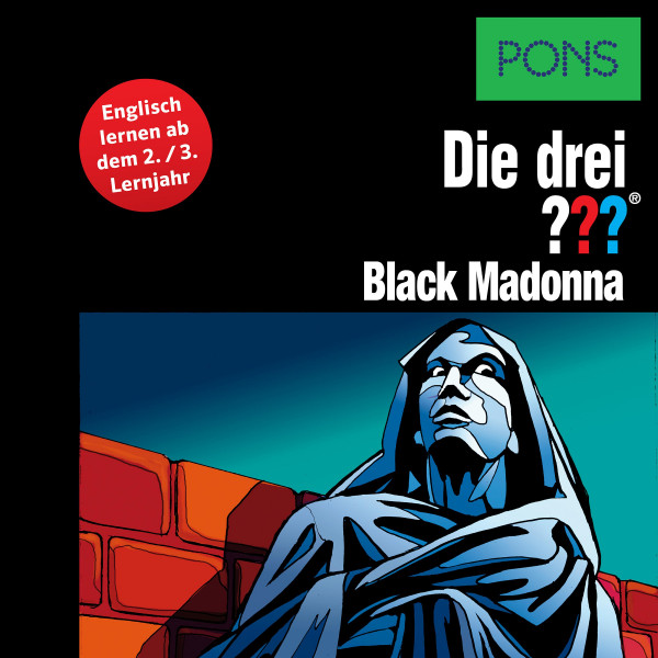 PONS Die drei ??? Fragezeichen Black Madonna - Lektüre: Englisch lernen mit den 3 Fragezeichen