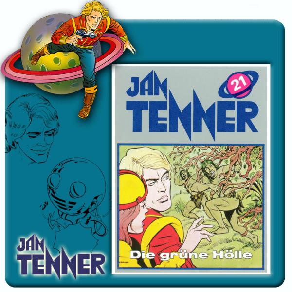 Jan Tenner Classics - Die grüne Hölle - Folge 21