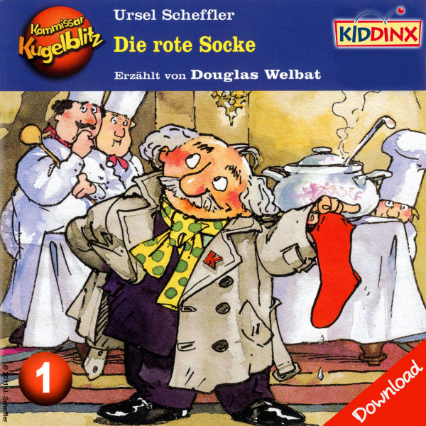 Kommissar Kugelblitz - Die rote Socke - Folge 1