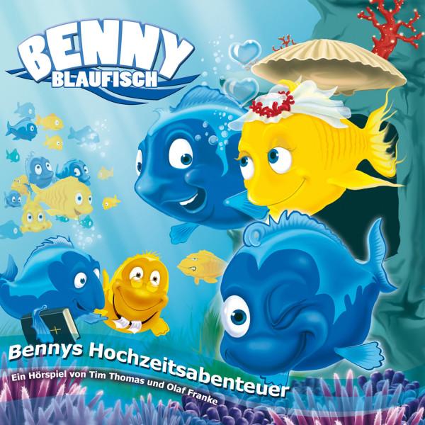 Bennys Hochzeitsabenteuer (Benny Blaufisch 4) - Kinder-Hörspiel
