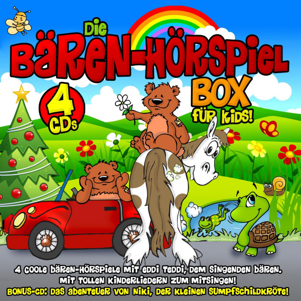 Die Bären-Hörspiel-Box Für Kids - 4 Coole Bären Hörspiele