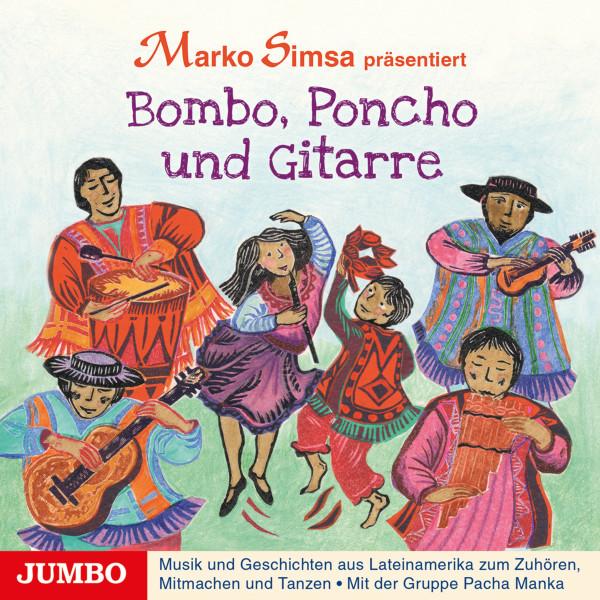 Bombo, Poncho und Gitarre
