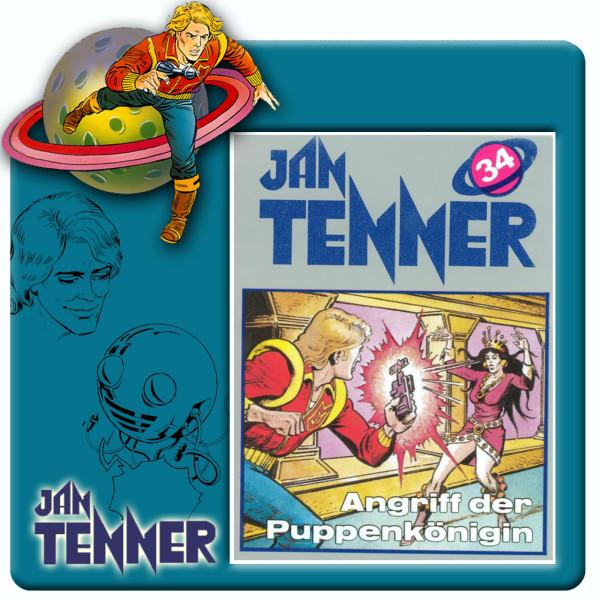 Jan Tenner Classics - Angriff der Puppenkönigin - Folge 34
