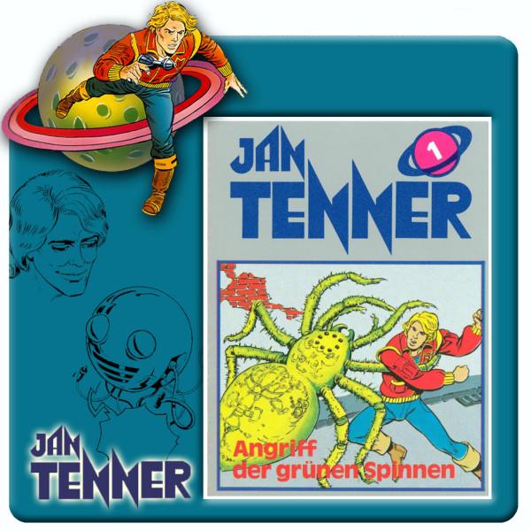 Jan Tenner Classics - Angriff der grünen Spinnen - Folge 1
