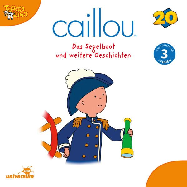 Caillou - Folgen 215-226: Das Segelboot