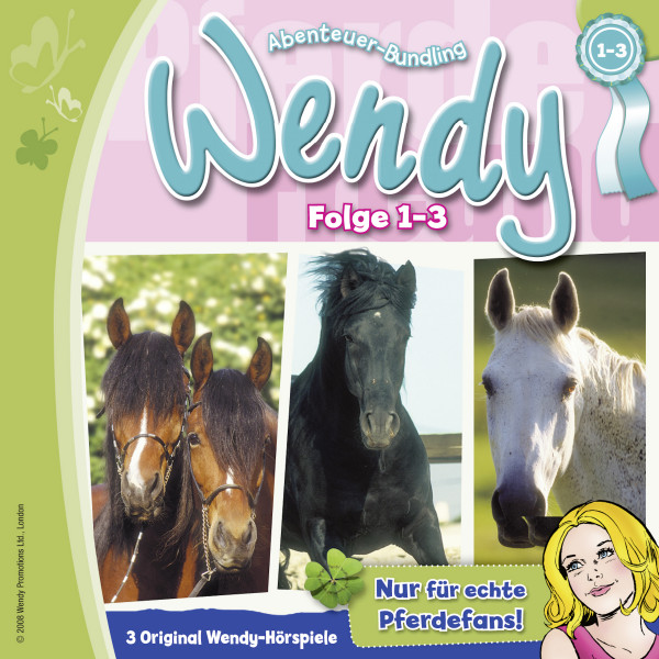 Wendy - Einsteigerbox - Folge1: Angst um Lindenhöhe / Folge 2: Wendy muss gewinnen / Folge 3: Meine Freundin Penny