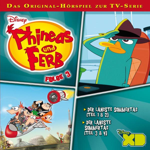 Disney - Phineas und Ferb - Folge 3 - Der längste Sommertag - Teil 1 - 4