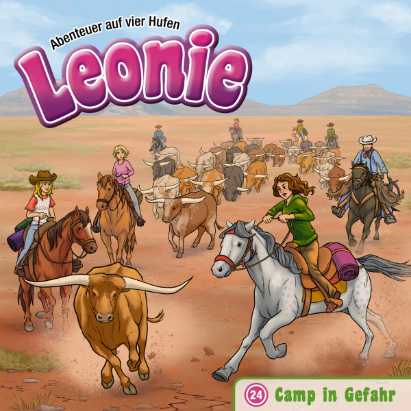 Leonie - Abenteuer auf vier Hufen - 24: Camp in Gefahr