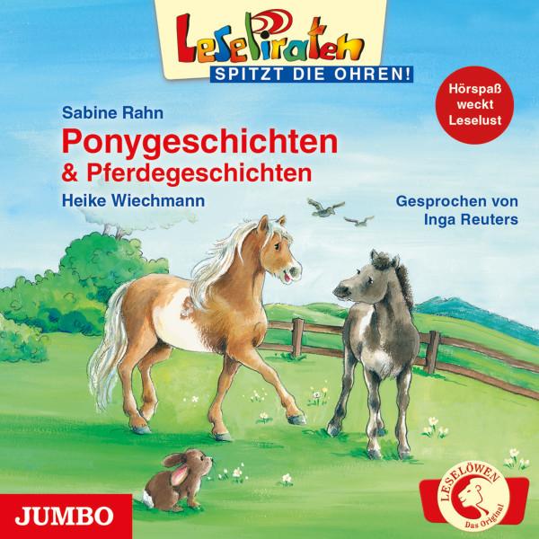 LesePiraten - spitzt die Ohren! - Ponygeschichten und Pferdegeschichten