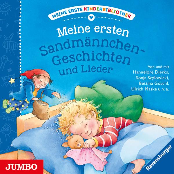 Meine ersten Sandmännchen-Geschichten und Lieder - Meine erste Kinderbibliothek