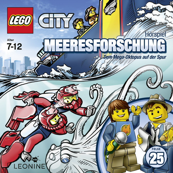 LEGO City - Folge 25: Dem Mega-Oktopus auf der Spur