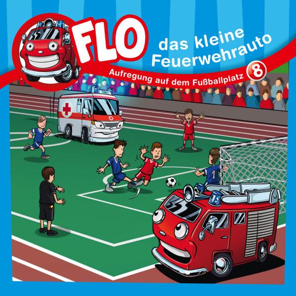 Flo, das kleine Feuerwehrauto - 08: Aufregung auf dem Fußballplatz
