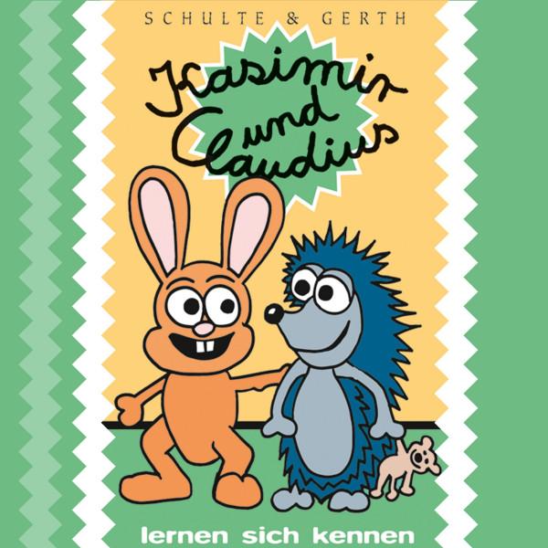 """Kasimir und Claudius lernen sich kennen (1) - Ein musikalisches Hörspiel von Olaf Franke für """"ABC-Schützen"""" und Kinder im Vorschulalter"""