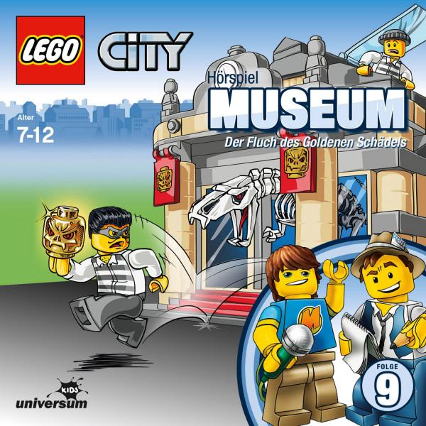 LEGO City: Folge 9 - Museum - Der Fluch des Goldenen Schädels