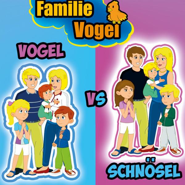 Familie Schnösel vs. Familie Vogel