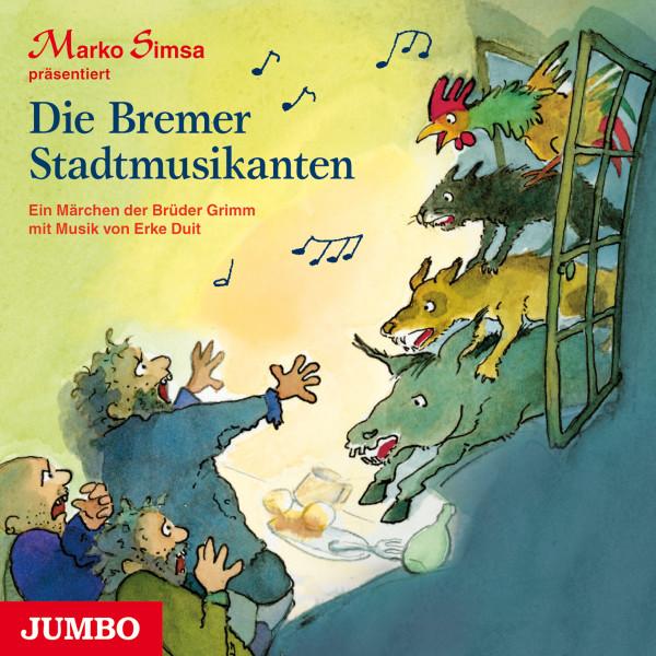 Die Bremer Stadtmusikanten - Das Märchen der Brüder Grimm mit Musik von Erke Duit
