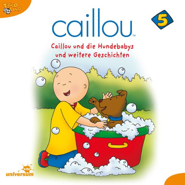 Caillou - Folgen 50-63: Caillou und die Hundebabys