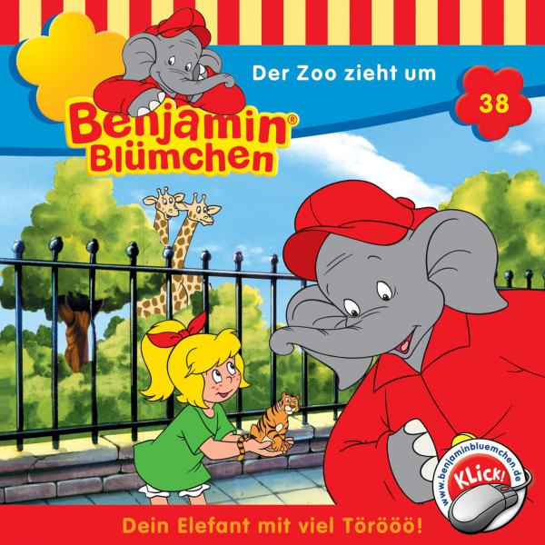 Benjamin Blümchen - Der Zoo zieht um - Folge 38