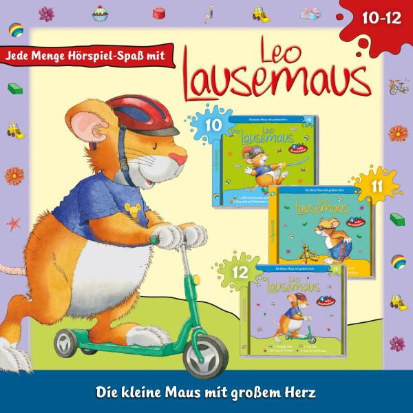 Leo Lausemaus 3er CD-Box: Folge 10-12