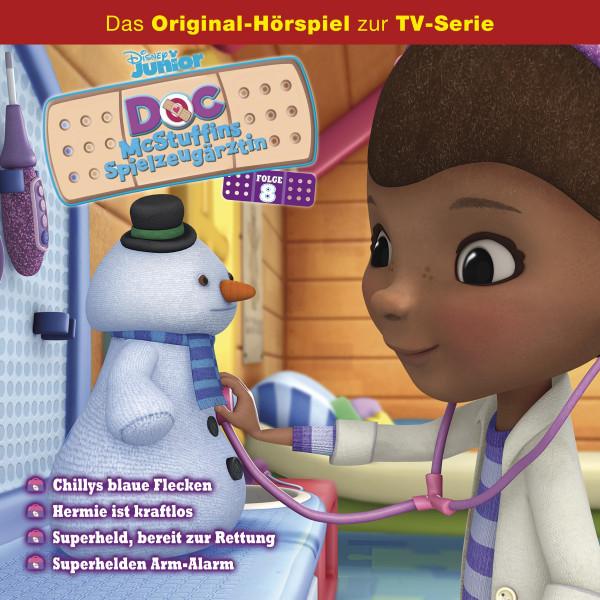 Doc McStuffins Hörspiel - Folge 8: Chillys blaue Flecken/ Hermie ist kraftlos/ Superheld, bereit zur Rettung/ Superhelden Arm-Alarm (Disney TV-Serie)