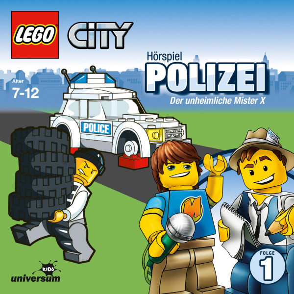 LEGO City: Folge 1 - Polizei - Der unheimliche Mister X
