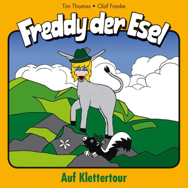 Auf Klettertour (Freddy der Esel 19) - Ein musikalisches Hörspiel