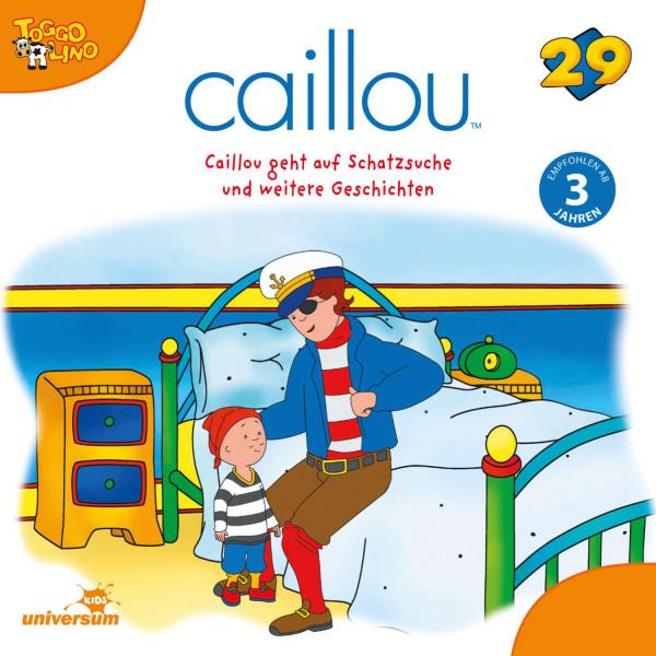 Caillou - Folgen 305-313: Caillou geht auf Schatzsuche