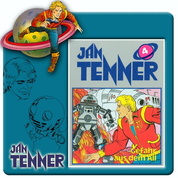 Jan Tenner Classics - Gefahr aus dem All - Folge 4