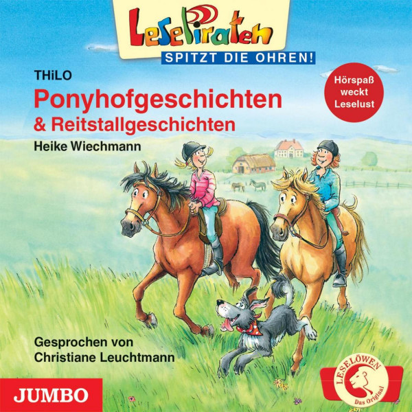 Lesepiraten - Ponyhofgeschichten & Reitstallgeschichten - LesePiraten - spitzt die Ohren!
