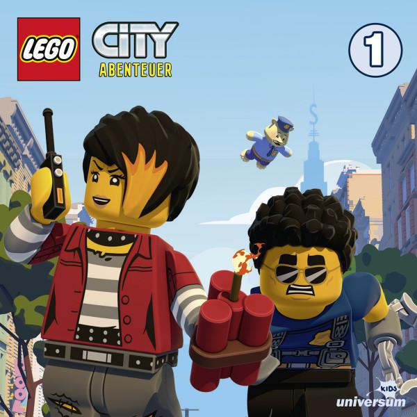 LEGO City TV-Serie Folgen 1-5: Helden und Räuber