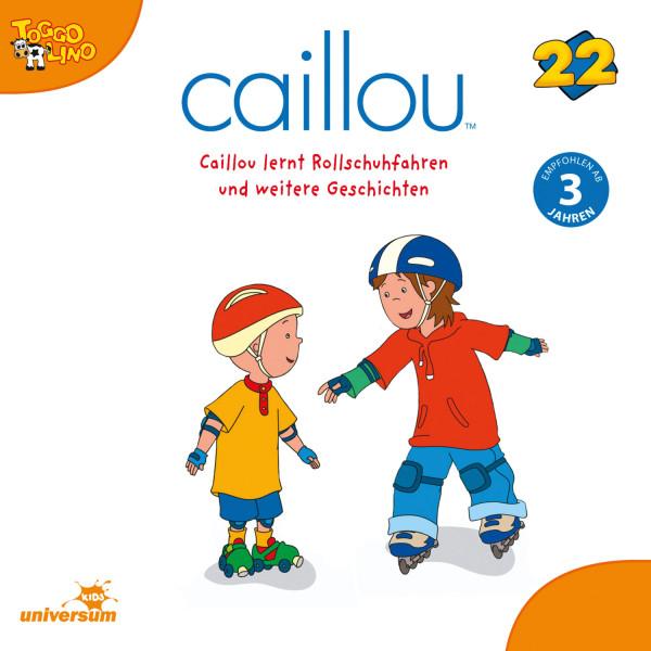 Caillou - Folgen 242-250: Caillou lernt Rollschuhfahren