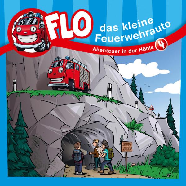 Flo, das kleine Feuerwehrauto - 04: Abenteuer in der Höhle