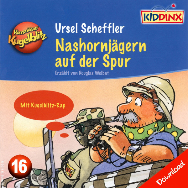 Kommissar Kugelblitz - Nashornjägern auf der Spur - Folge 16