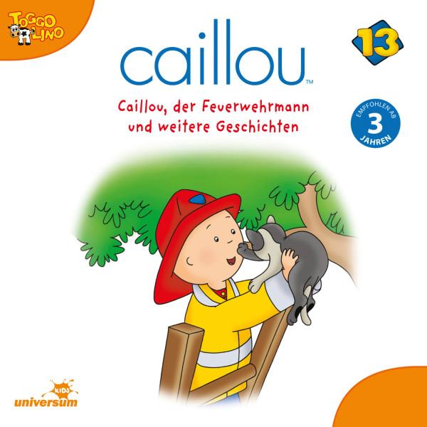 Caillou - Folgen 155-166: Caillou, der Feuerwehrmann